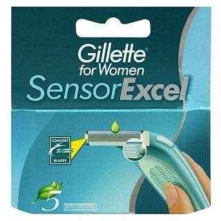 Gillette Sensor Excel for Women 5 Klingen